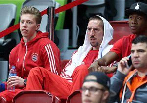 Franck Ribery hatte zu Saisonbeginn bereits zehn Pflichtspiele mit Patellasehnenproblemen verpasst