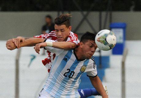 Argentina cayó con Paraguay en el Sub 20