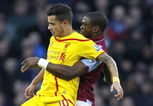Aston Villa 0-2 Liverpool: Borini y Lambert dan el triunfo a los Reds