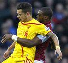 Premier League: Aston Villa 0-2 Liverpool