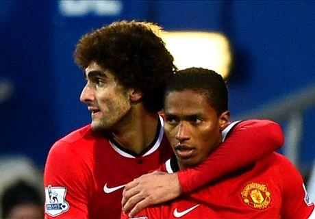 Noten: Fellaini & Wilson beleben United