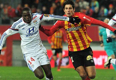 RC Lens 0-2 Lyon