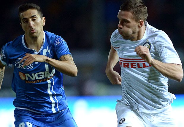 Empoli 0-0 Inter: Toothless Nerazzurri forced to fourth draw in six games
