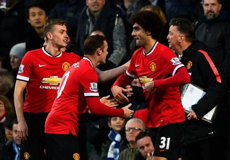 Manchester Utd sufrió y ganó