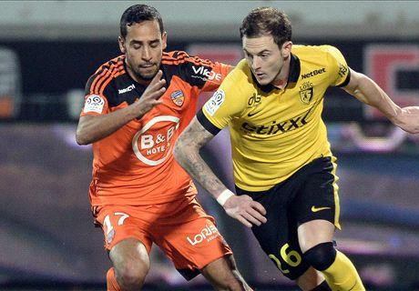 Résumé de match, Lorient-Lille (1-0)