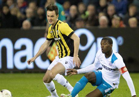 Laporan: Vitesse 0-1 PSV Eindhoven