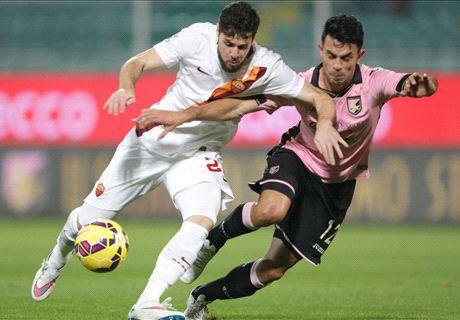 Serie A: Palermo 1-1 Roma
