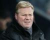 Koeman blames defeat on defence