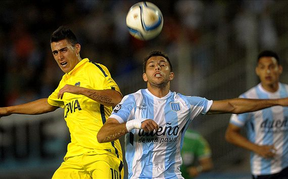 Un tacle horrible en Argentine lors d'un match entre Boca et Racing