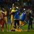 Tigres festeja triunfo ante León