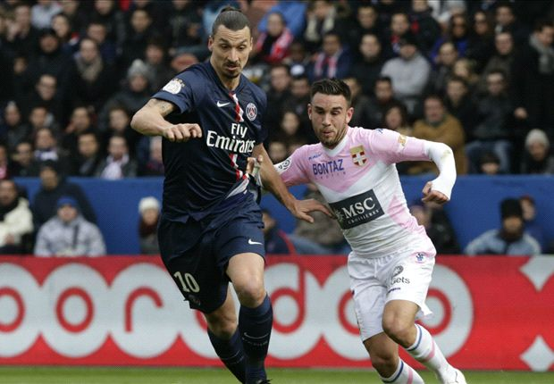 Paris Saint-Germain 4-2 Evian: Champions leave it late against struggling visitors