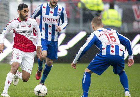 Watch Van den Berg's rabona assist