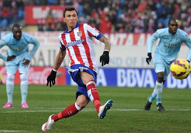 Atletico Madrid 2-0 Granada: Mandzukic and Garcia fire champions to victory