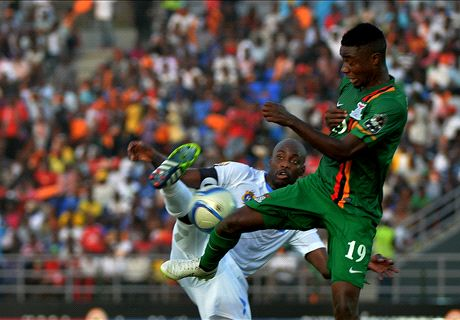 Player Ratings: Zambia 1-1 DR Congo