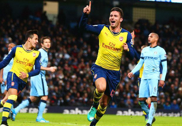 Manchester City 0-2 Arsenal : Arsenal signe un grand coup