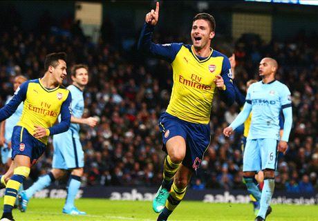 LIVE: Brighton & Hove Albion 0-2 Arsenal