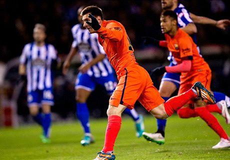 Tim Terbaik La Liga Spanyol Jornada 19