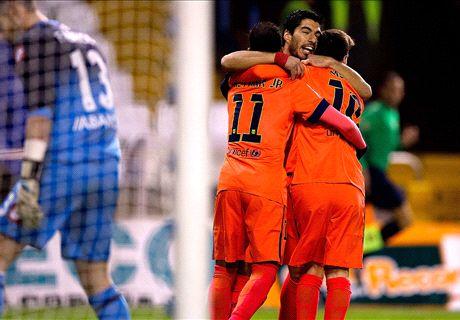 Laporan: La Coruna 0-4 Barcelona