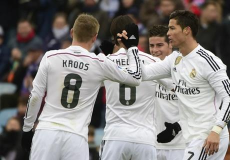 Real Madrid defiende la punta sin CR7
