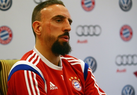 Ribery injury blow for Bayern Munich