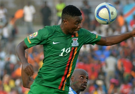 Sinkala to miss remainder of Afcon