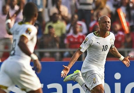 Ghana ganó y avanza en la Copa África