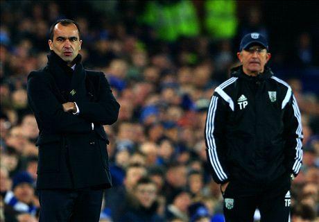 Everton igualó sin goles con WBA