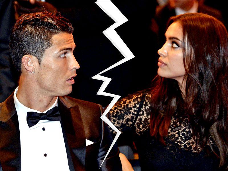 Irina Shayk And Cristiano Ronaldo Ballon Dor Cristiano Ronaldo Irina Shayk