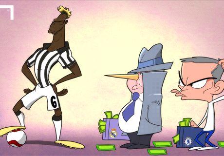 LA VIÑETA | Ancelotti, Pogba y las mentiras