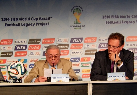 Marin: Brazil will invest World Cup spoils