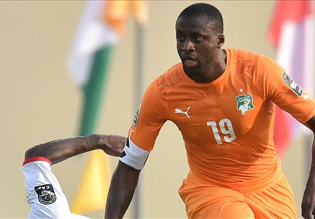 Yaya Toure limps out of Afcon clash