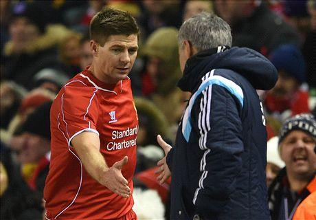 Mourinho: I'll be sad to see Gerrard go