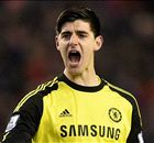 'Courtois got Chelsea to the final'