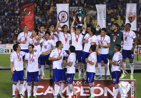 Cruz Azul levantó la Copa MX