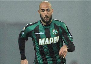L'attaccante del Sassuolo, Simone Zaza