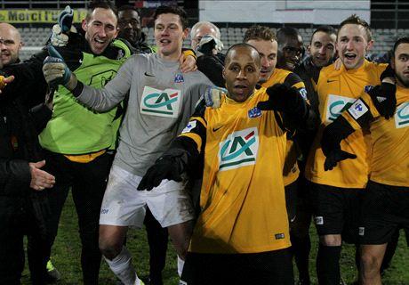 Coupe de France, Boulogne élimine Quevilly