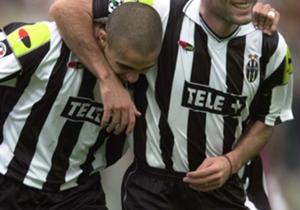 Zidane foi seu companheiro de equipe na Velha Senhora e no Bleus