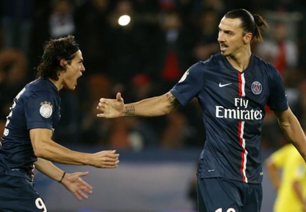 Edinson Cavani Kembali Bantah Friksi Dengan Zlatan Ibrahimovic