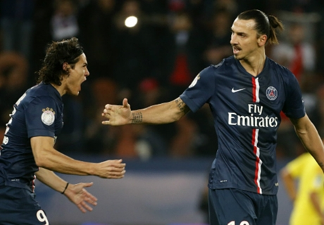 'Ibra - Cavani partnership must improve'