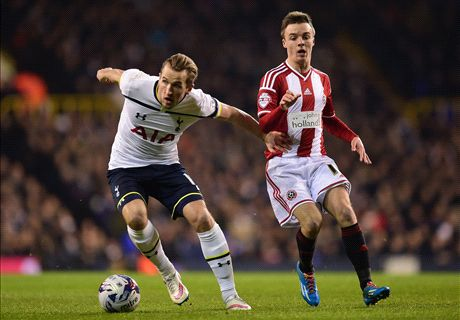 LIVE: Sheffield vs Tottenham