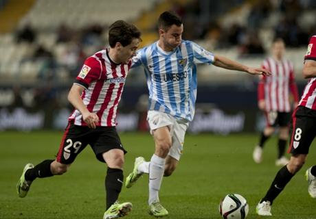 Résumé de match, Athletic Bilbao-Malaga (1-1)