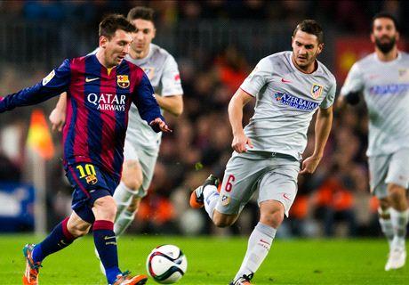 Laporan: Barcelona 1-0 Atletico Madrid