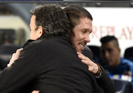 Simeone 'proud' of Atleti's attitude
