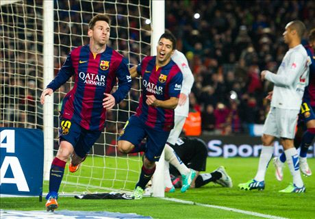 Barca will do 'everything' to win - Messi