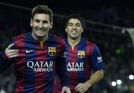 Tabarez: Suarez Senilai Messi