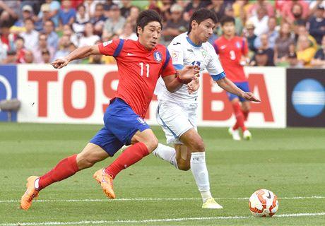 Report: S Korea 2-0 Uzbekistan (AET)