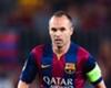 Barcelona suffer Iniesta blow