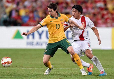 Report: China 0-2 Australia