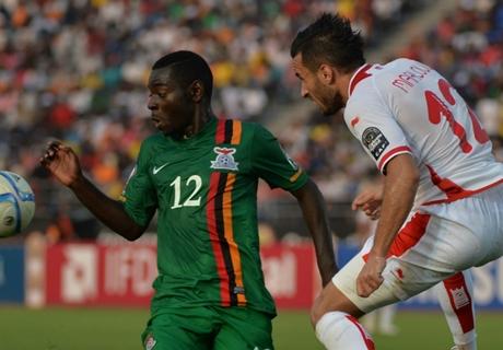 Player Ratings: Zambia 1-2 Tunisia