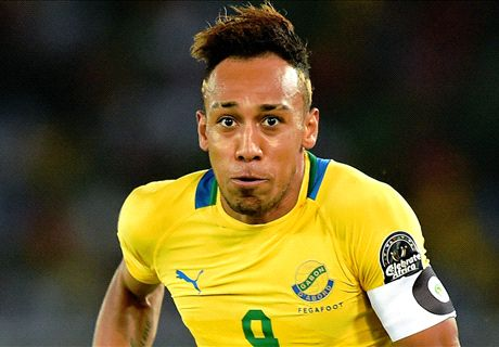 Aubameyang: I flopped against Congo